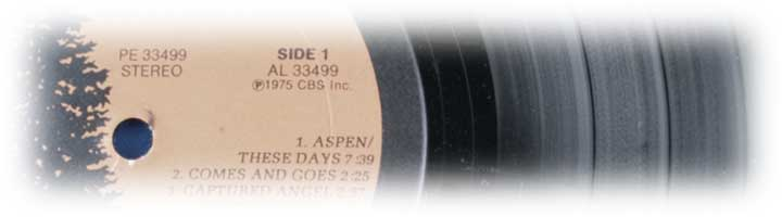 Side 1 LP record album